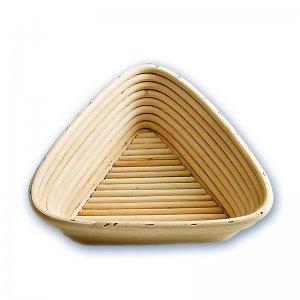 Bild zu Gärkörbchen Dreieck 750g, 220mm Kantenlänge, Peddigrohrkörbchen
