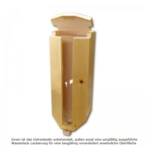 Bild 1 zu Artikel Zirbenholz-Getreidesilo (3x5kg)