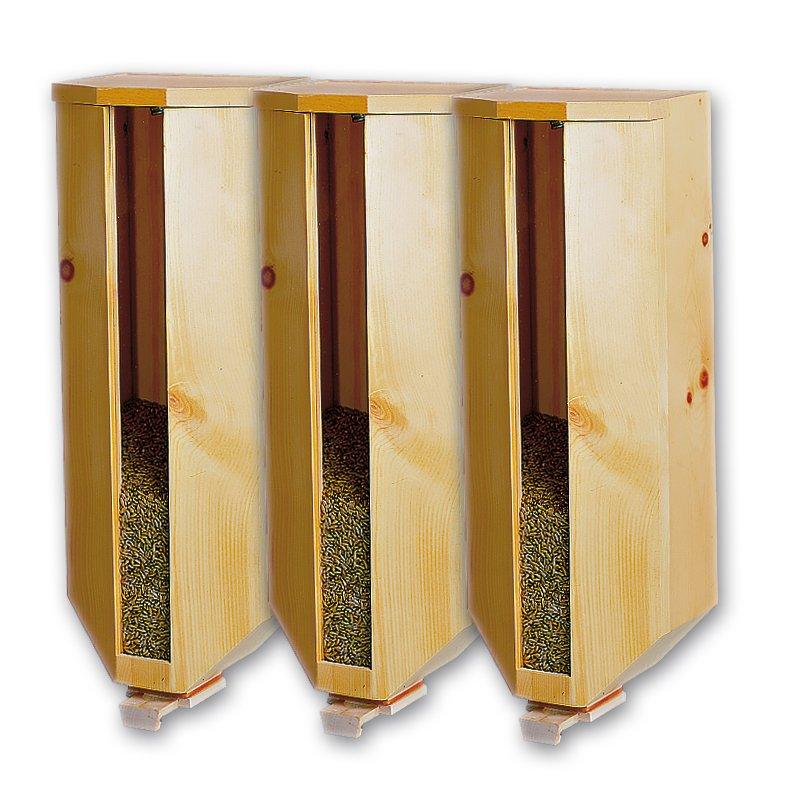 Bild zu Zirbenholz-Getreidesilo (3x5kg)