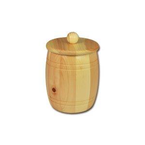 Bild zu Osttiroler Getreidefass 1,5 kg aus massivem Zirbenholz