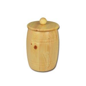 Bild zu Osttiroler Getreidefass 1,8 kg aus massivem Zirbenholz