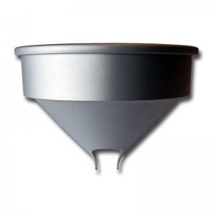 Bild zu Trichter aus Aluminium für die Eschenfelder Kornquetschen