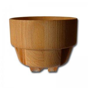 Bild zu Trichter aus Holz für die Eschenfelder Kornquetschen