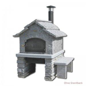 Bild zu Steinofen-Fertigbausatz Modell Tessin 6/8 mit Rauchrohr