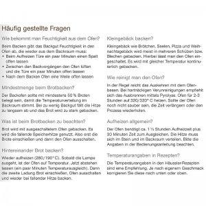 Bild 7 zu Artikel  Elektro-Steinbackofen MONO