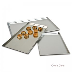 Bild zu Backbleche aus Aluminium (Rand 3 cm)