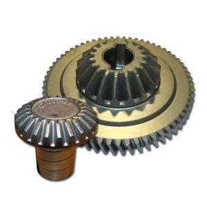 Bild zu Zentralzahnrad und Frontzahnrad (Center Gear + Hub Gear)