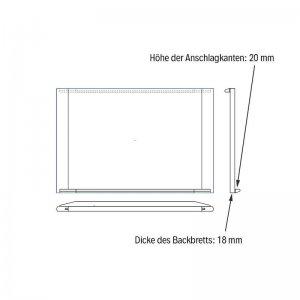 Bild 1 zu Artikel Backbrett aus Buche und Lindenholz
